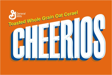 Cherrios as Wheaties