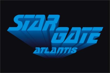 Stargate Atlantis as Star Trek The Next Generation