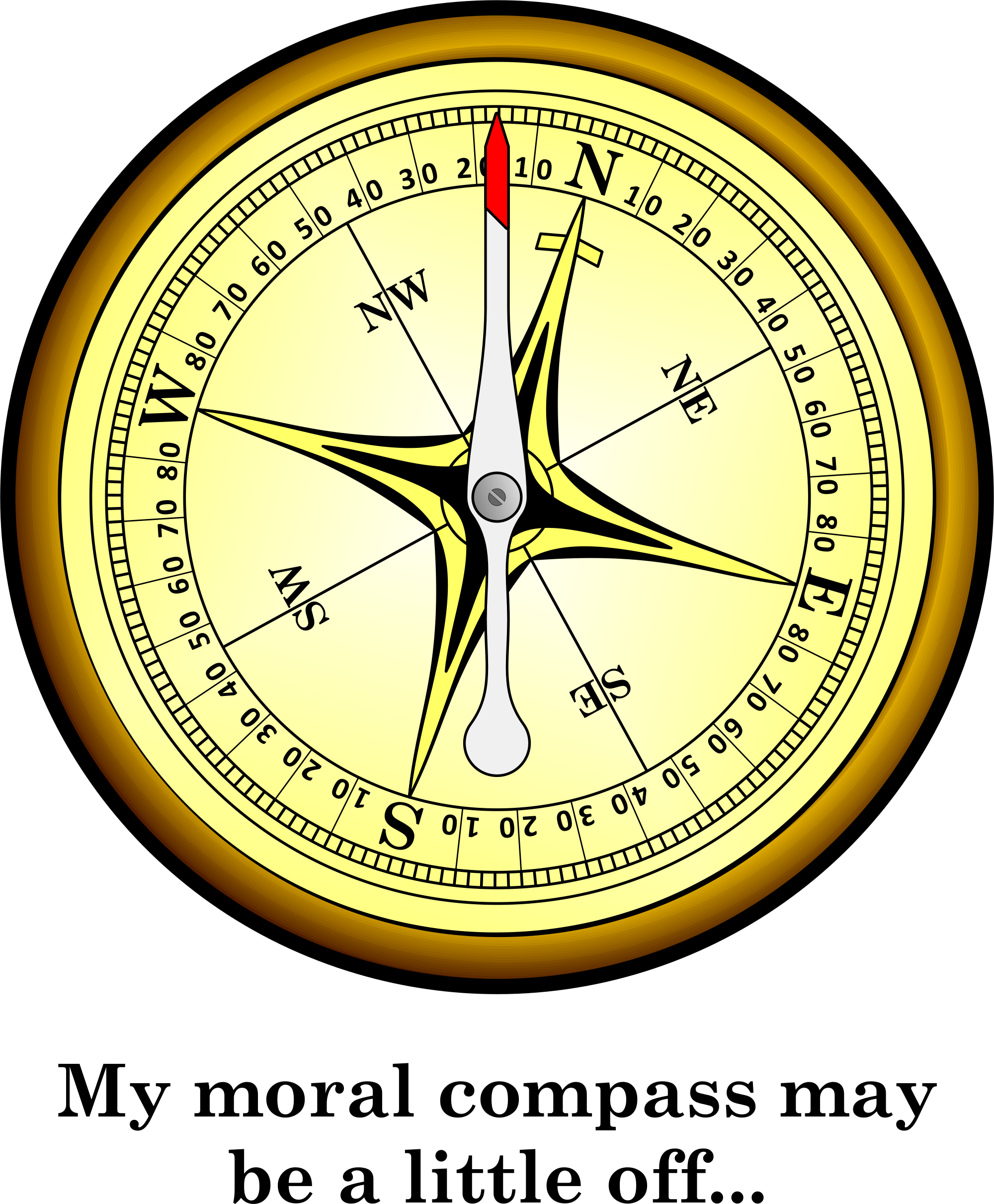 moral compass 2018-7-10 the moral compass is a set of guidelines as to what is right and wrong it is not an absolute rule there are always situations where just about anything is justified, but those are the exceptions.
